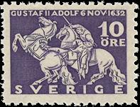 Sverige Facit 234c 1932 Kong Gustaf II Adolfs død v/Lützen