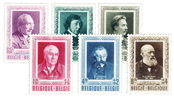 Belgien 1952 - OBP 892-97 - Ubrugt