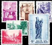 Belgien 1954 - OBP 946-51 - Ubrugt