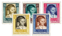 Luxembourg 1930 - Mint hinged - Michel 227-31