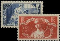 France 1935 - YT 307-08 - Unused