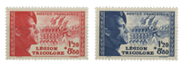 France 1942 - YT 565-66 - Unused