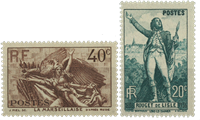 France 1936 - YT 314/315 - Unused