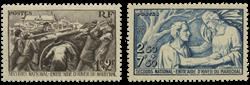 Frankrig 1941 - YT 497/98 - Ubrugt