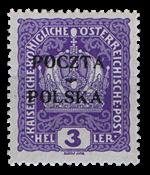 1919 PUOLA - AFA 17 käyttämättömänä