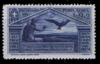 1930 ITALIA - AFA 307 käytämättömänä