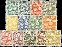 Curacao - Mercuriuskop 1931-1939 (nr. LP4-LP16, ongebruikt)