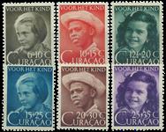 Curacao - Kinderzegels 1948 (nr. 200-205, ongebruikt)