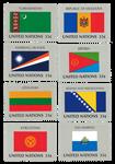 FN flag 1999 postfrisk