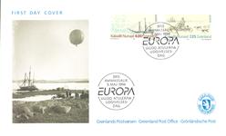 Grønland - Europa førstedagskuvert