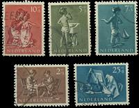 Netherlands 1954 - NVPH 649-653 - Cancelled