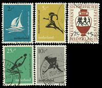 Netherlands 1956 - NVPH 676-80 - Cancelled