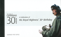 Guernsey - Prince William - Postfrisk prestigehæfte