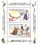 Cypern tyrkisk - Europa 2014 - Postfrisk miniark