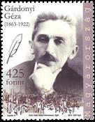 Ungarn - Geza Gardonyi - Postfrisk frimærke