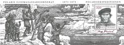 Grønland - Ekspedition X - Stemplet miniark