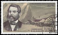 Grønland - Ekspedition XI 2013(1) - Stemplet frimærke