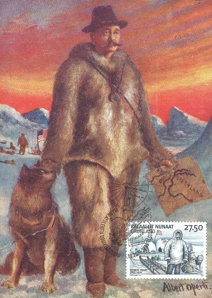 Grønland Ekspedition III - Maximumskort