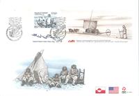 Grønland Ekspedition III - FDC med miniark