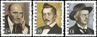Luxembourg - Forfattere - Postfrisk sæt 3v