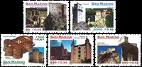 San Marino - Castles - Mint set 5v