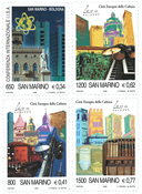 San Marino - Culture capital - Mint set 4v