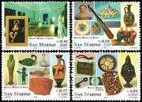 San Marino - National Museum - Mint set 4v