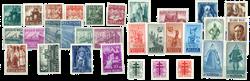 Belgien 1948 - Postfrisk