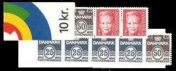 Danmark 2000 - Frimærkehæfte - Postfrisk