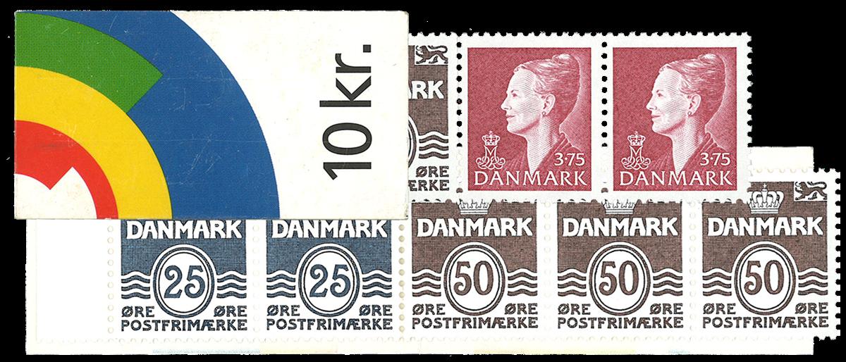 Danmark 1998 - Frimærkehæfte - Postfrisk