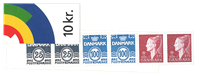 Danmark 1997 - Frimærkehæfte - Postfrisk
