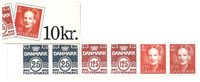 Denmark - Stamp booklet 1991 - Mint