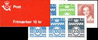 Danmark 1990 - Frimærkehæfte - Postfrisk