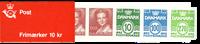 Denmark - Stamp booklet 1988 - Mint