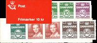 Danmark 1989 - Frimærkehæfte - Postfrisk