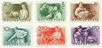 Hungary - AFA no. 1411-16 - Mint