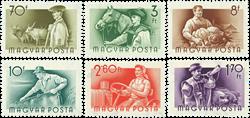 Ungarn AFA 1411-16 - Postfrisk