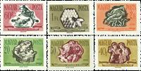 Hungary - AFA no. 1488-93 - Mint