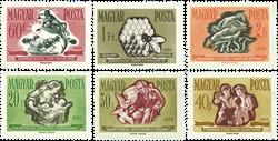 Ungarn AFA 1488-93 - Postfrisk