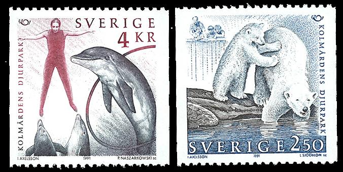 Sverige - Fællesnordisk udgave - Postfrisk