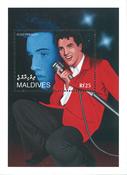 Maldiverne - Elvis Presley - Postfrisk miniark