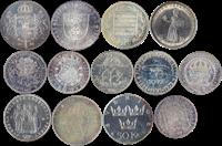 Sweden - 13 silver coins