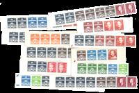 Danemark - Carnets de timbres C complet