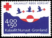 Greenland - Red Cross - Mint