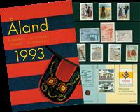 Åland - Årsmappe 1993