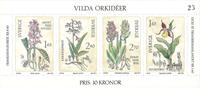 Sverige vilde orkideer 1982