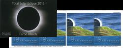Færøerne - Solformørkelse - Postfrisk selvkl. hæfte 19,-