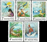 Ungarn 1987 - Kendte eventyr og fabler - Postfrisk