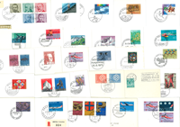 Switzerland - FDC duplicate lot