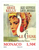 Monaco - *The Swan* with Grace Kelly - Mint stamp